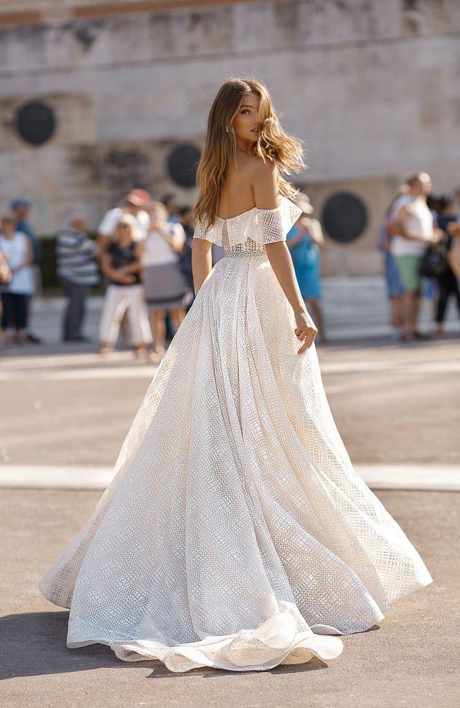 Heres Meghan Trainors Sheer Lace Wedding Dress Celebritywedding
