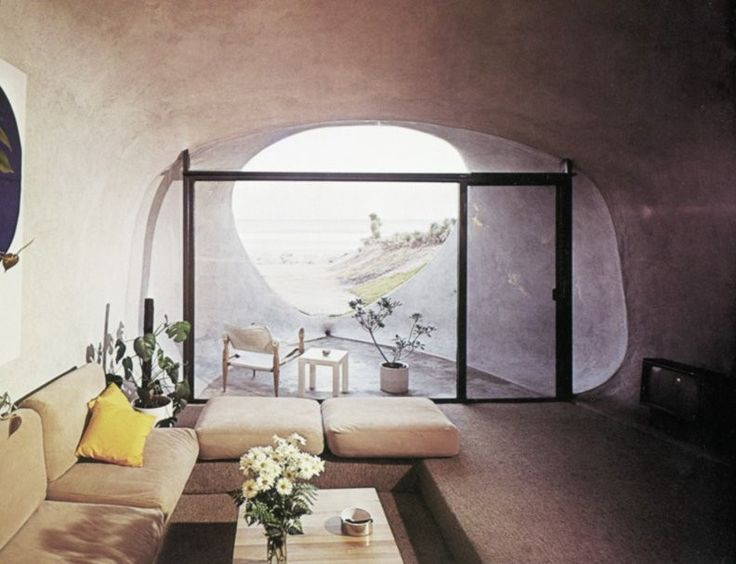 Interior Twin Dunehouse - William Morgan Architects - from Taschen's Decorative Art 70s
