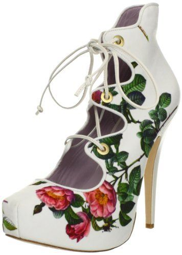 Shoes with flowers