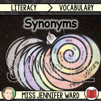 This is a fantastic set of synonym scrolls featuring colours/colors. They are the perfect reference for expanding vocabulary use in writing. A real feast of words for hungry minds! To use all you need to do is print and get your students to colour them in.