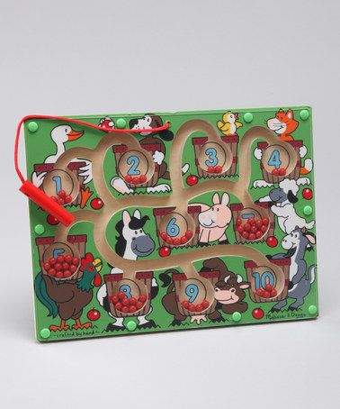 Magnetic Number Maze by Melissa & Doug on #zulily