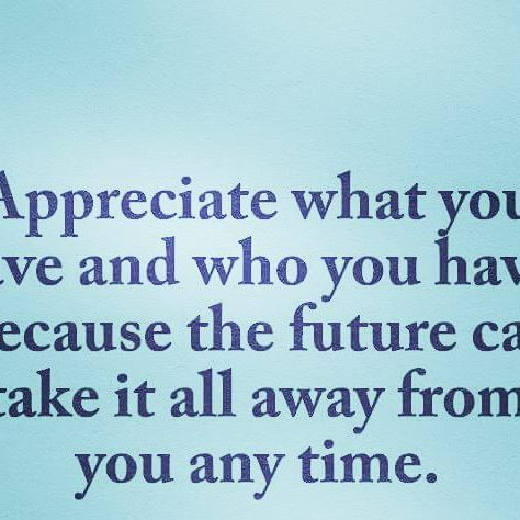 not appreciating someone quotes