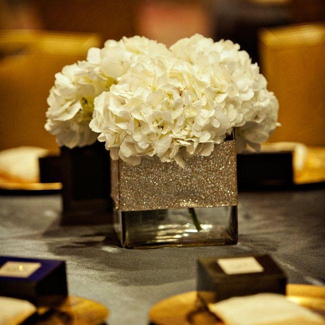 Hydrangea Centerpieces In Square Vases : Best white hydrangea centerpieces ideas on pinterest