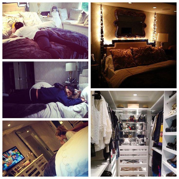 Kendall Jenner bedroom