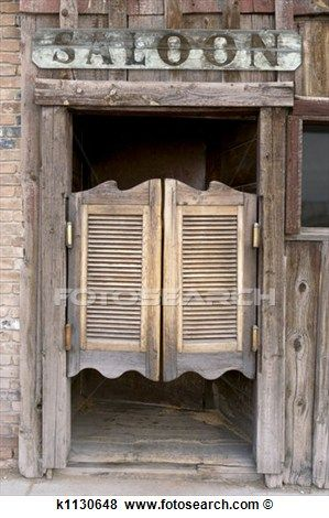 Western Saloon Doors View Large Photo Image