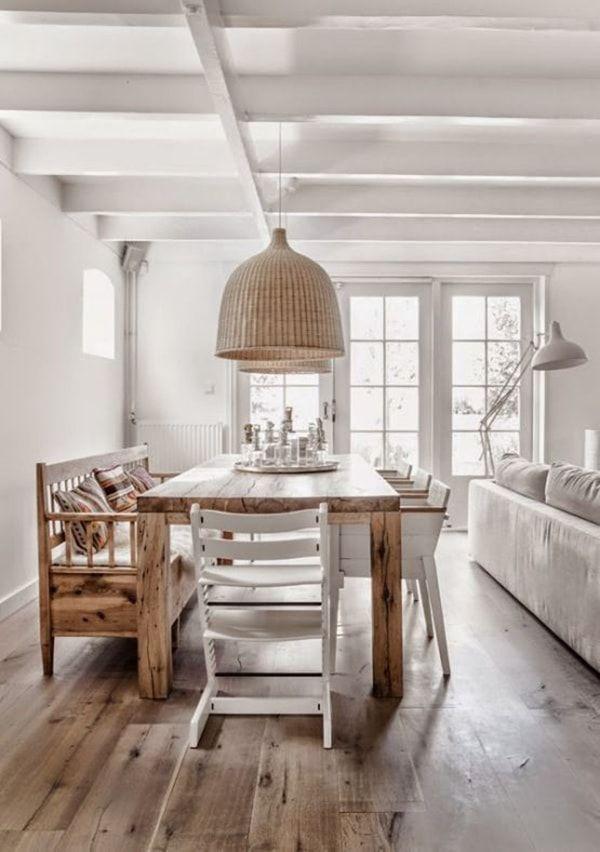 17 mejores ideas sobre l mparas de techo en pinterest - Comedores bonitos y modernos ...
