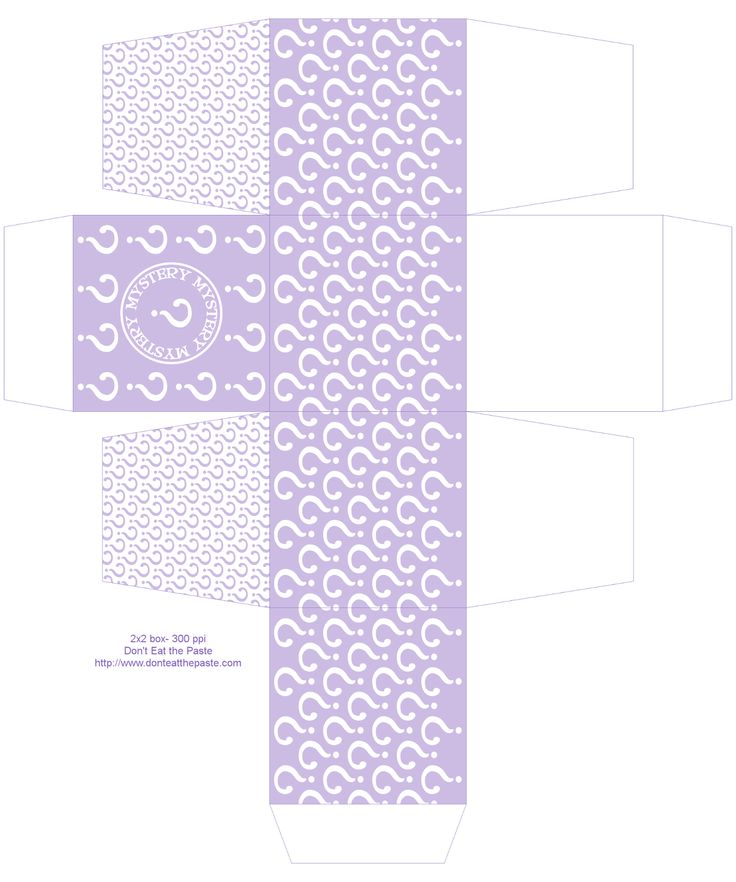 332 best printable gift boxes images on pinterest gift boxes printable mystery box also available in orange green and teal paper crafts negle Gallery
