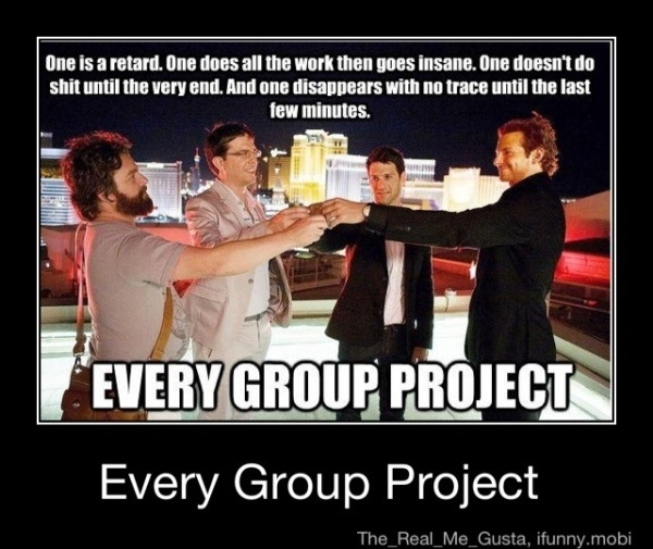 i hate group projects