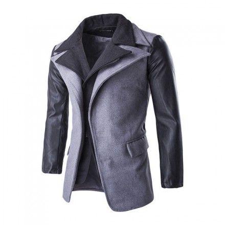 Miesten harmaa takki - Bledoncy