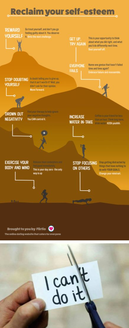 Take Charge Of Your Life And Reclaim Your Self-Esteem [Infographic]
