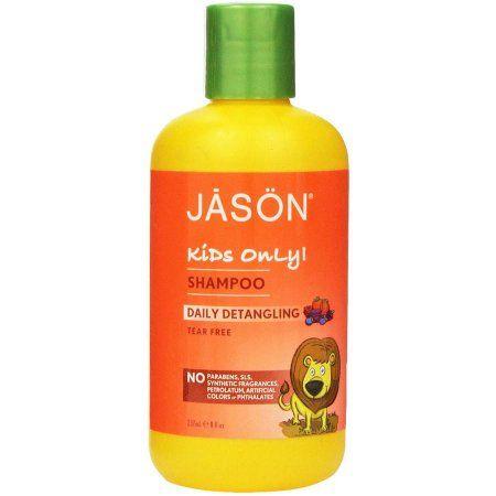 Jason Natural Cosmetics Daily Detangling Shampoo, 8 fl oz