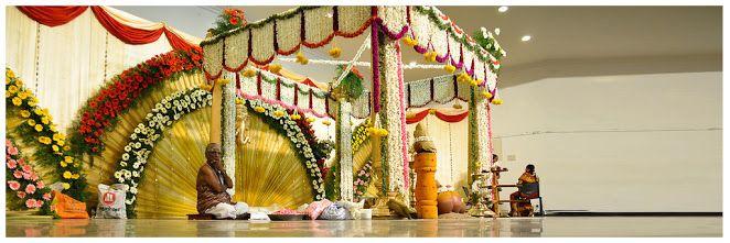 Flower decoration upanayanam google search rangolis for Annaprasana decoration