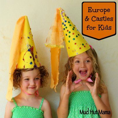 We capitalized on the girls' love of fairytales that feature kings, queens, knights and princesses with a castles for kids unit to learn about Europe.