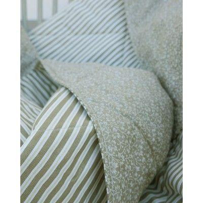Steppelt takaró - drapp csíkos