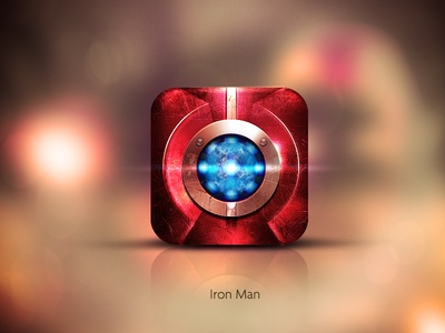 Ironman IOS Icon  by AFTERMILK / 800.600