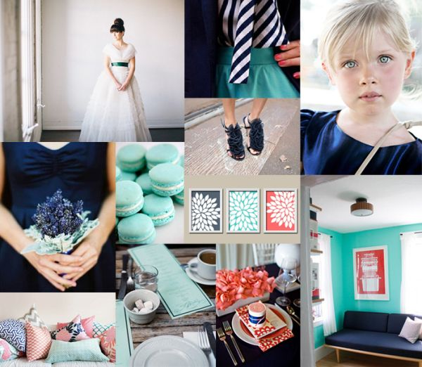 Maybe this color combo instead..Navy Aqua Coral Wedding Colors... Instead of aqua how about mint: Inspiration Board, Aqua Beach Weddings, Aqua Wedding Colors, Coral Colors, Wedding Ideas, Aqua Coral Weddings, Coral Navy, Color Palette, Navy Aqua Coral Wedding Colors