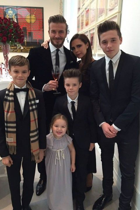 Victoria Shares A Beckham Family Throwback - David And Victoria Beckham's Family Album