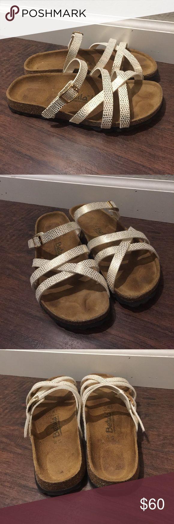Birkenstock Betula Sandals Birkenstock Betula Polka Dot sandals size 36 Birkenstock Shoes Sandals