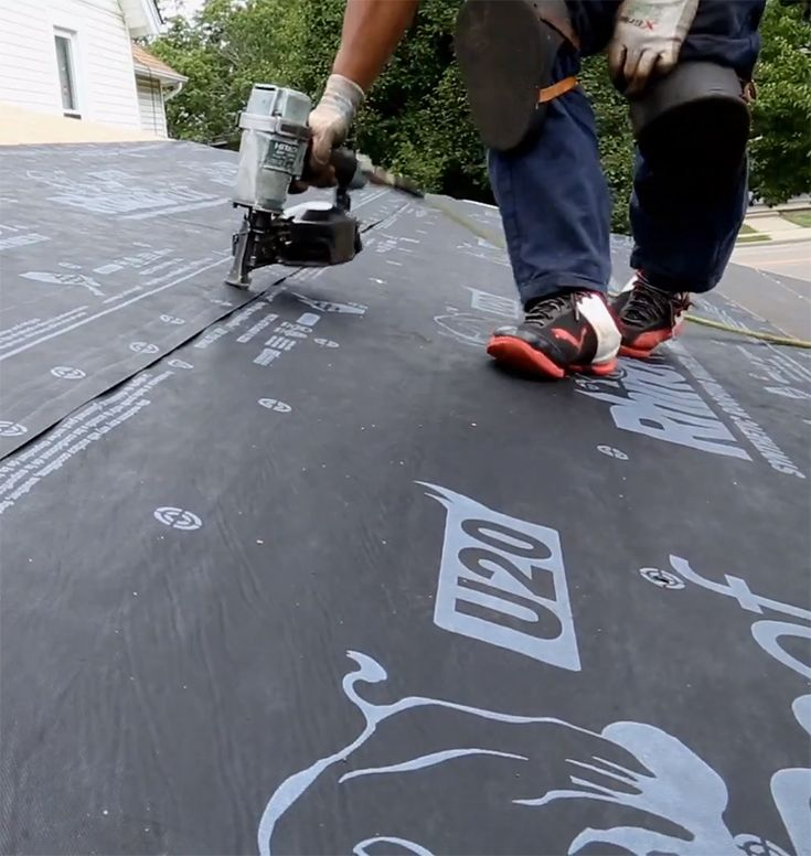 Synthetic Underlayment For Standing Seam Metal Roof Standing Seam Metal Roof Metal Roof Synthetic Roofing