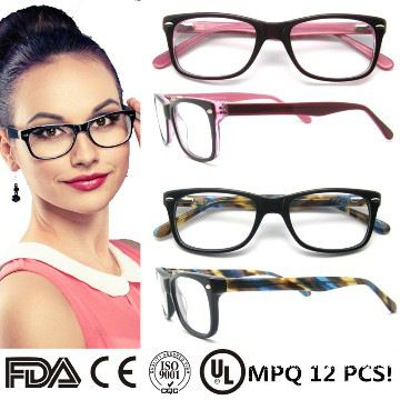 Popular Glass Frames for Women | 2015 popular designer eyeglasses frames women men acetate eyewear Like