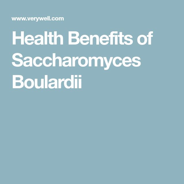 Health Benefits of Saccharomyces Boulardii