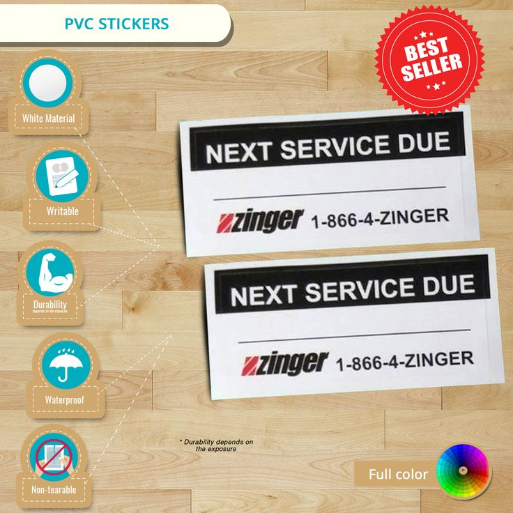 [ Infographic ] PVC Stickers material is thicker compared to ordinary vinyl sticker with the same matte finish. #pvcstickers #pvcvinylstickers #custompvcstickers #vinylstickers #stickerprinting
