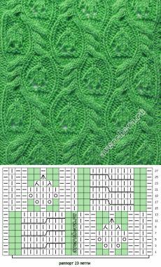 Patrón 372 | patrón de tejer con agujas directorio