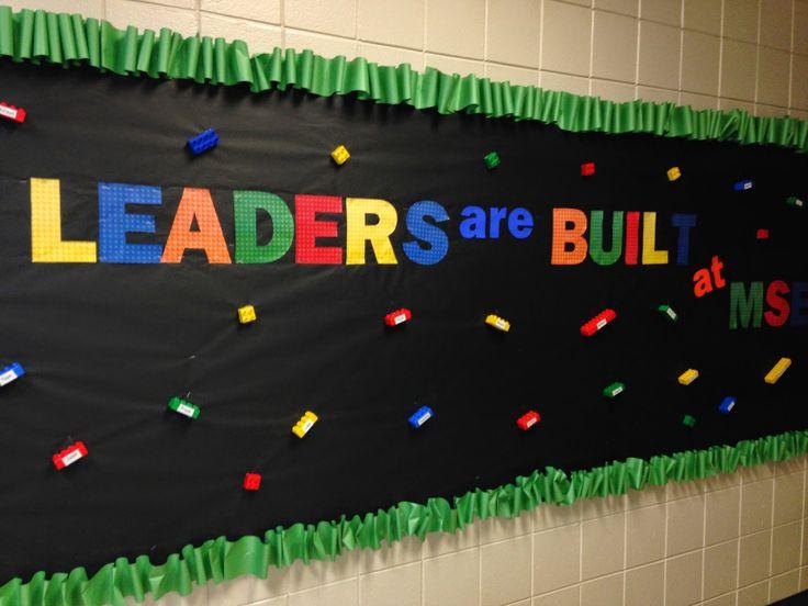 Leader in Me Schools: bulletin boards