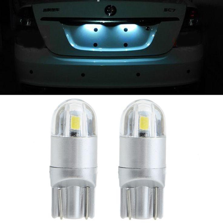 $2.07 (Buy here: https://alitems.com/g/1e8d114494ebda23ff8b16525dc3e8/?i=5&ulp=https%3A%2F%2Fwww.aliexpress.com%2Fitem%2F1-Pair-9-30V-3030-2-LED-T10-Car-Lamp-License-Plate-White-Light-Bulbs-High%2F32778805145.html ) 1 Pair 9-30V 3030 2 LED T10 Car Lamp License Plate White Light Bulbs High Power for just $2.07