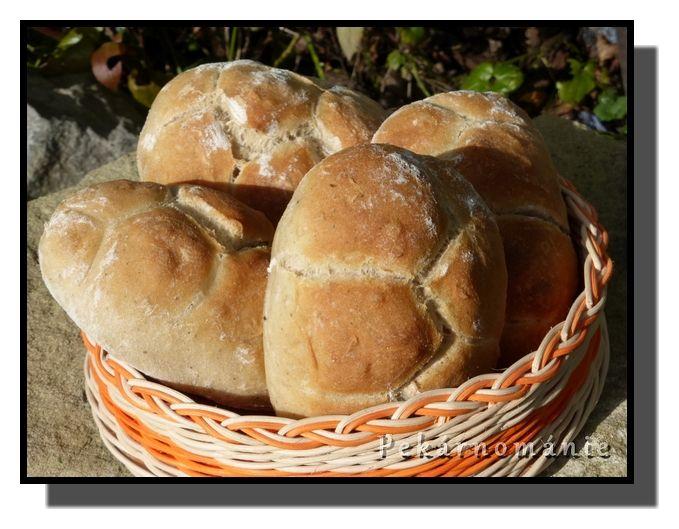 Pšenično – žitné raženky s pepřem