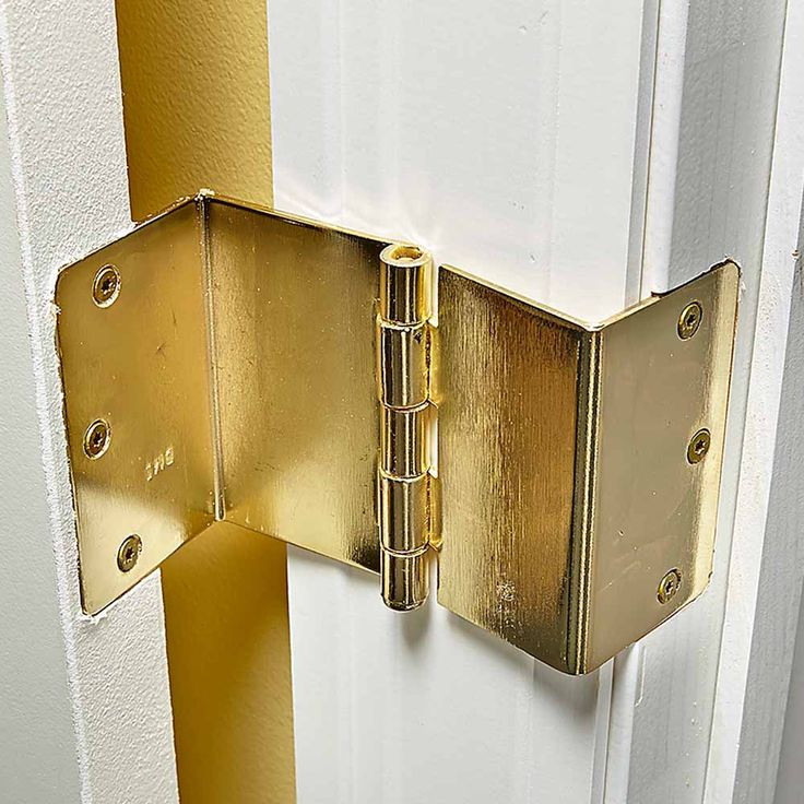 Widen Doorways With Offset Hinges Navigating narrow doorways is tough for someone using a wheelchair or walker. Doorways can be widened, but it's a complex and costly job. An easier solution is to replace the existing hinges with expandable offset door hinges.