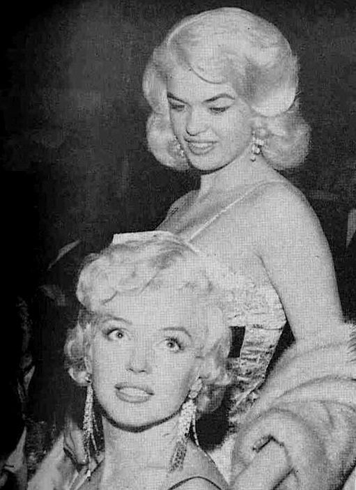 Jayne Mansfield and Marilyn Monroe