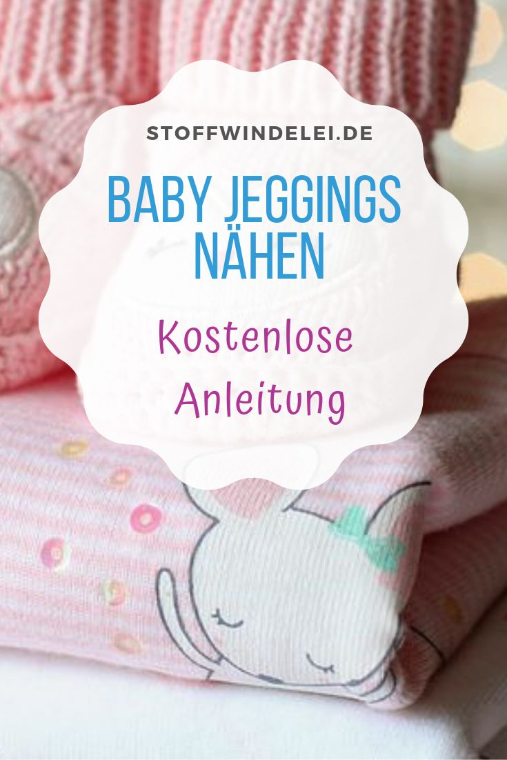 Baby Wohlfühljeans: Gratis Schnittmuster & Nähanleitung Gr. 50-92   – DIY Kinder