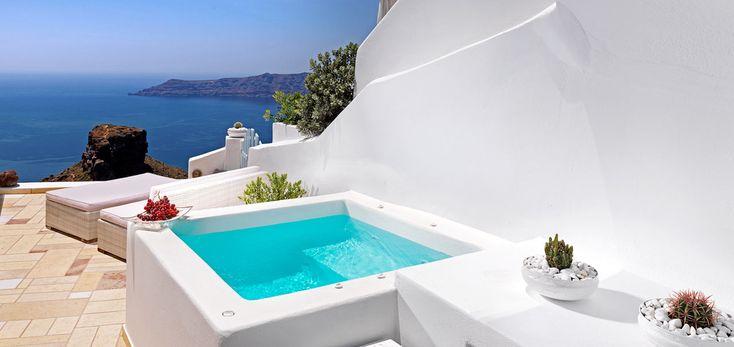 Santorini Hotel Tholos .: Jacuzzi