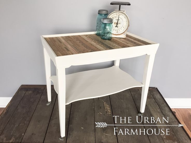 A Table That Really Measures Up. This Vintage Farmhouse Table Is On Itu0027s  Original Casters