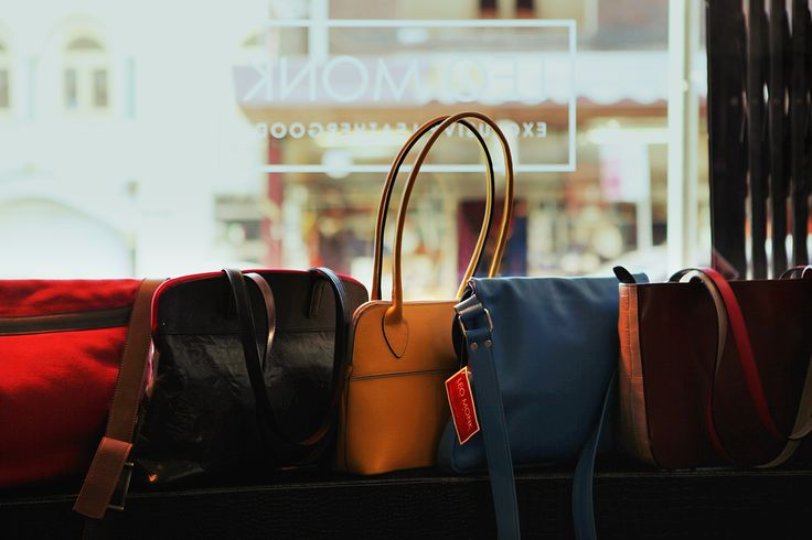 If you can't visit our flagship store in Newtown, Sydney, we have a great assortment online! www.leomonkhandbags.com