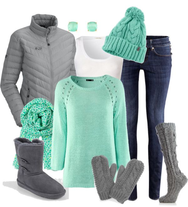 """snow day"" by meganpearl on Polyvore....perfect for getting into spring colors when winter is still here:"