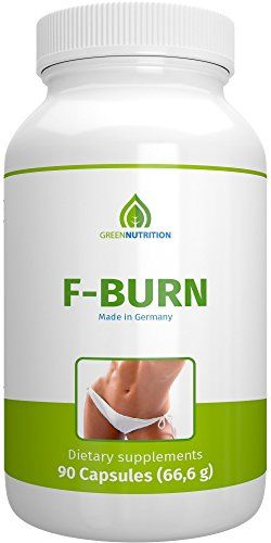 Green Nutrition- F-Burn – 90 capsules – 100% natural – guarana extract – green coffee – Vitamin B6&B12 – JollyVault