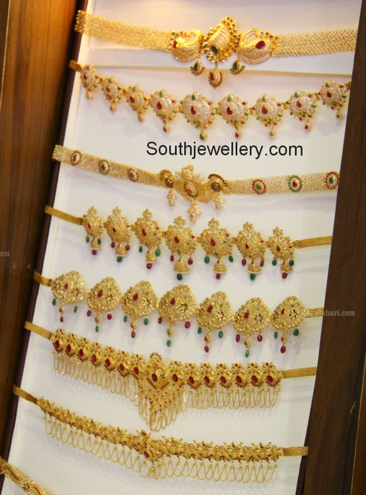 Light Weight Vaddanam Designs