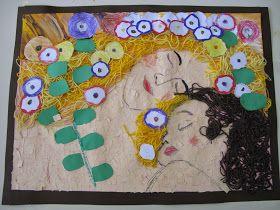 """Έλα να παίξουμε...στο Νηπιαγωγείο!!!: Πίνακας ζωγραφικής του Klimt : """"The three ages of a woman"""""""