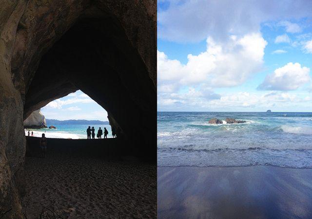 cathedral cove & hot water beach, coromandel : smiten studio