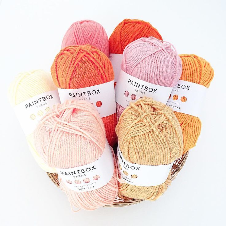 Paintbox yarn for crocheting