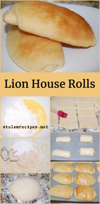 Lion House Rolls Recipe Lion House Rolls Yeast Rolls Rolls
