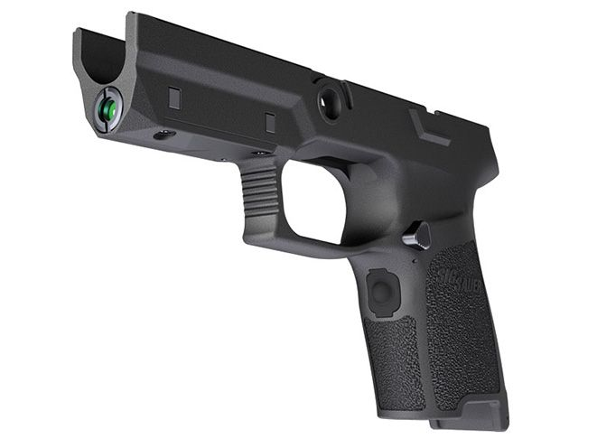 Designed to fit with Sig's P320 and P250 pistol platforms, the LIMA5 provides state-of-the-art laser targeting.