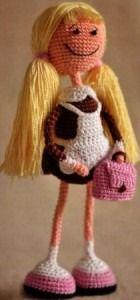 Мария Монтеро Большая книга вязаных кукол в технике