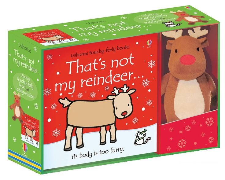 "Find out more about ""That's not my reindeer... book and toy"", write a review or buy online."