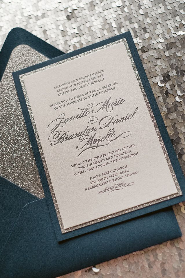 25+ best ideas about glitter wedding invitations on pinterest, Wedding invitations