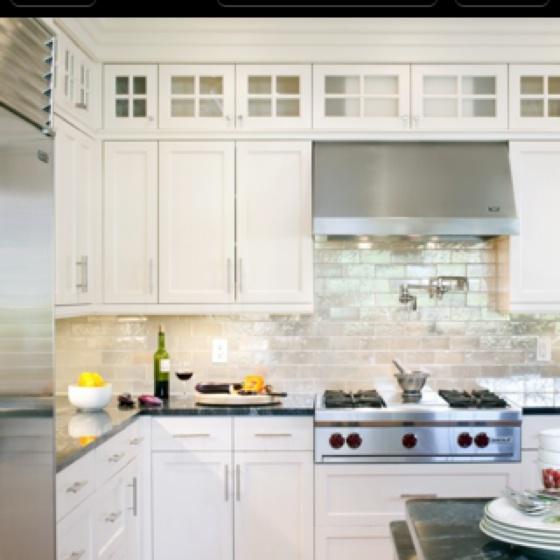Dreamy white kitchen