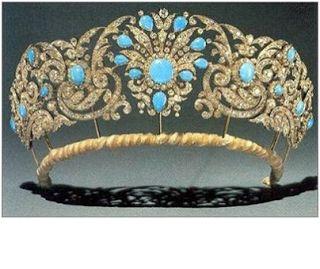 Königliche Juwelen: Teck Türkis Parure