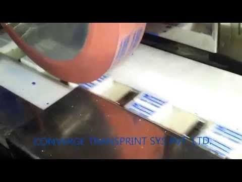 ERASER Rotary Pad Printing - YouTube